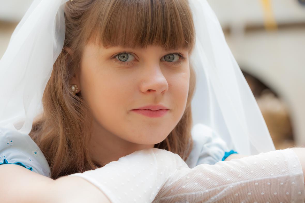 Jenovéfa Boková v roli princezny