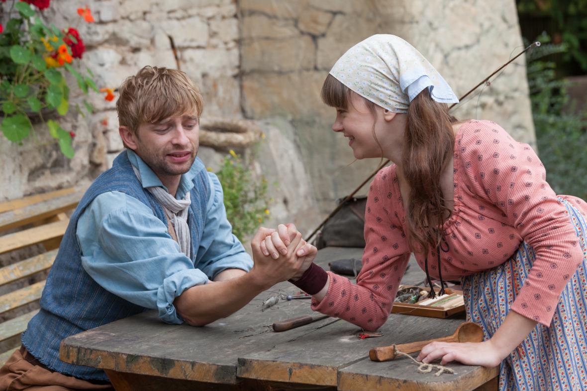 Ludvík a Lidunka v pohádce Kdyby byly ryby