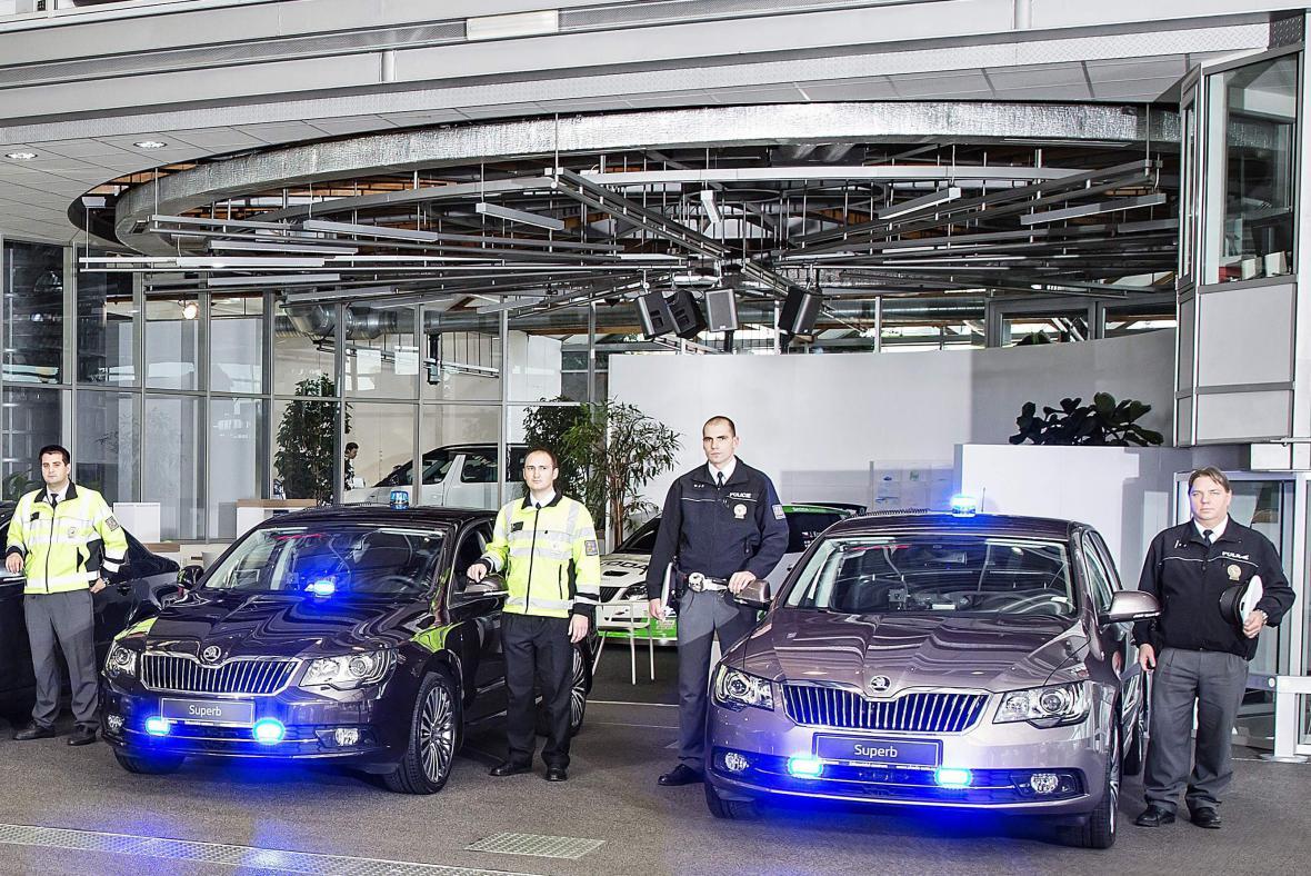 Nové policejní superby