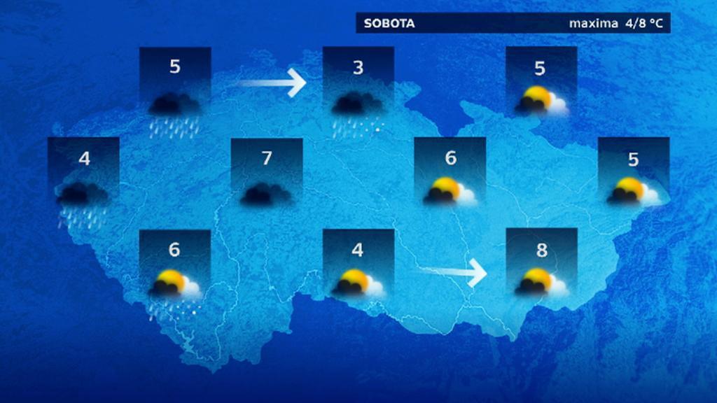Předpověď počasí na sobotu 20.12.