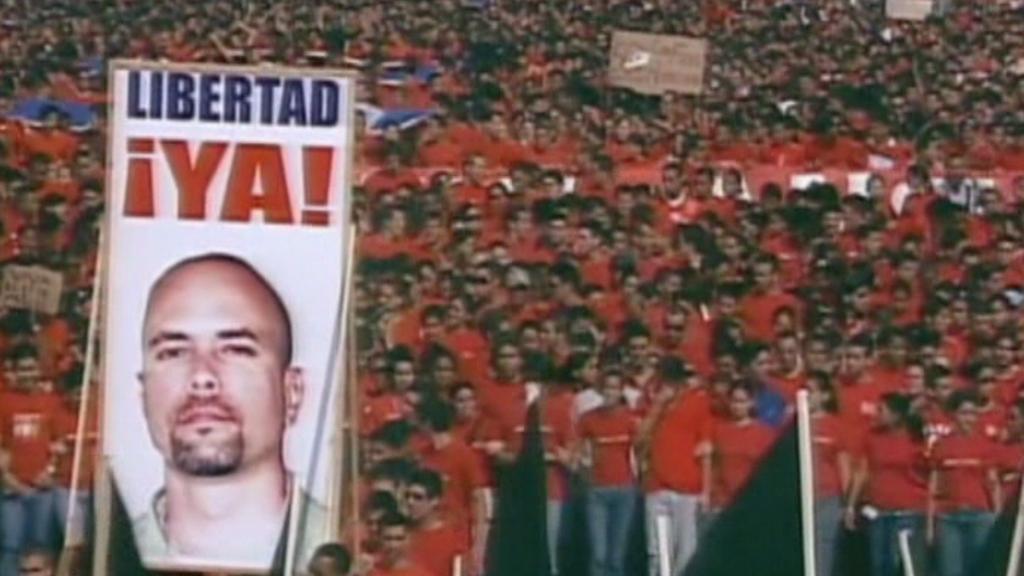 Demonstrace za propuštění kubánských špionů