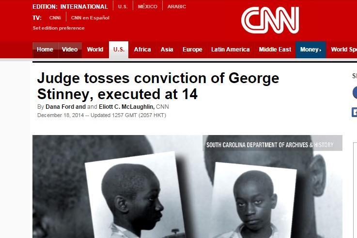 CNN o Georgi Stinneyovi
