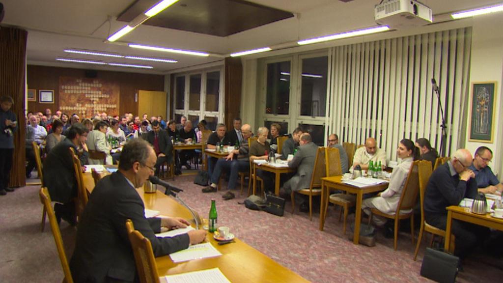 Jednání zastupitelů Českého Krumlova