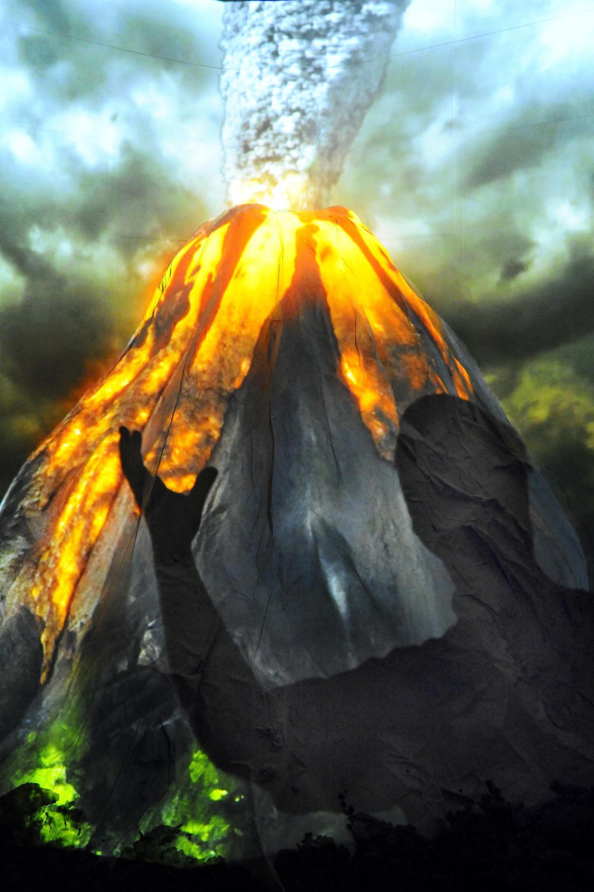 Vulkány - tepny Země