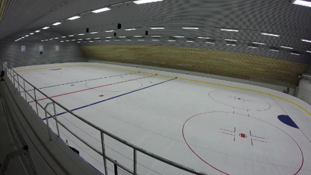 Zimní stadion v Bystřici nad Pernštejnem