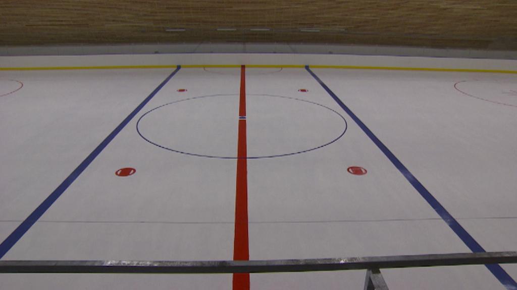 Plocha zimního stadionu
