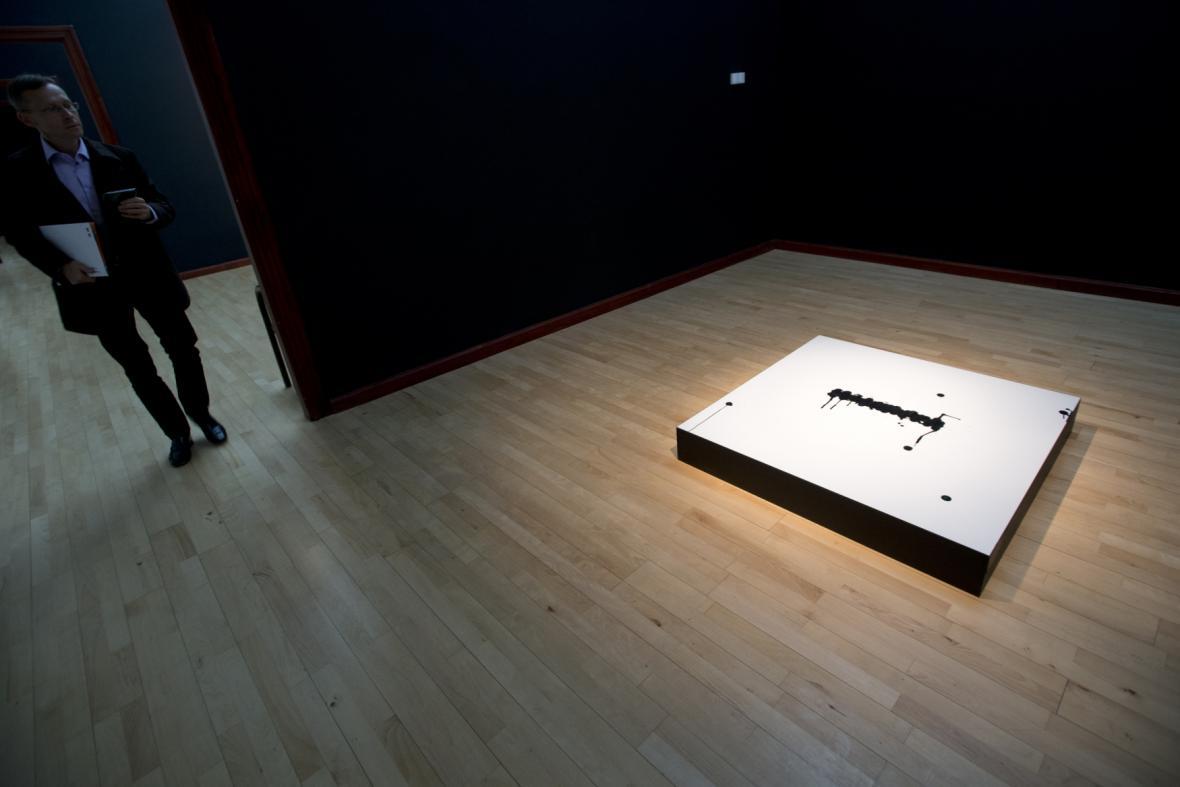 Vizuální a akustické - retrospektiva Milana Grygara v GHMP