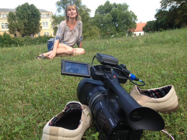 15. července jsem točil zpěvačku Marii Sommerovou v Lysé nad Labem