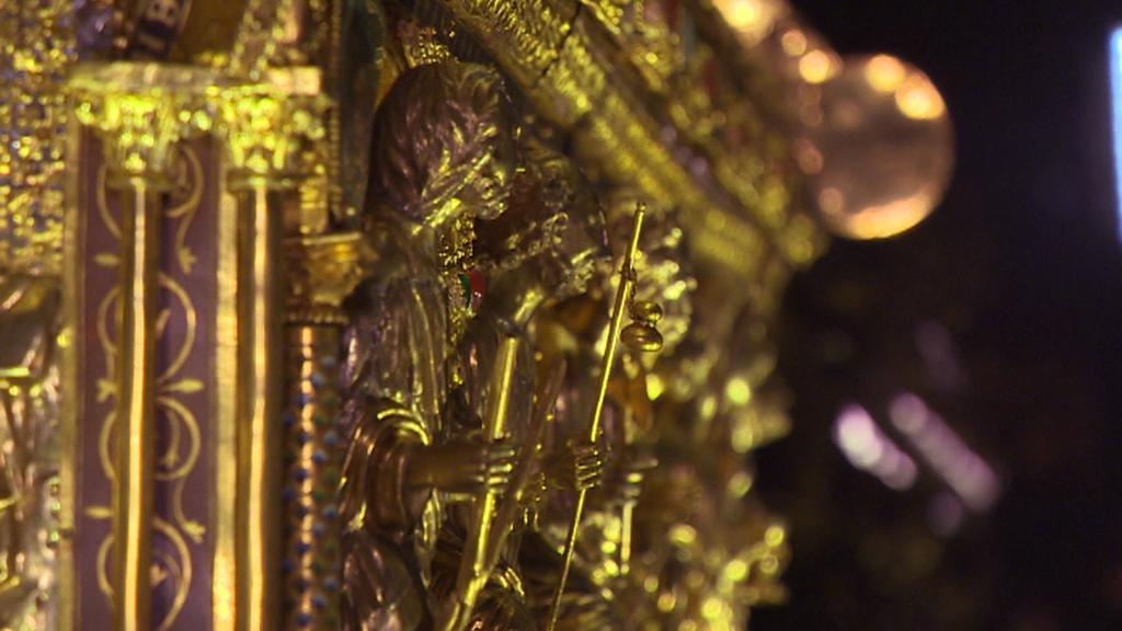 Detail z relikviáře sv. Maura