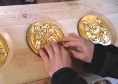 Haptický model relikviáře sv. Maura