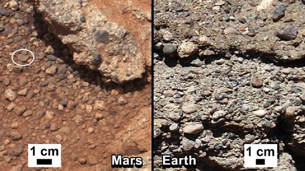 Snímky ze sondy Curiosity