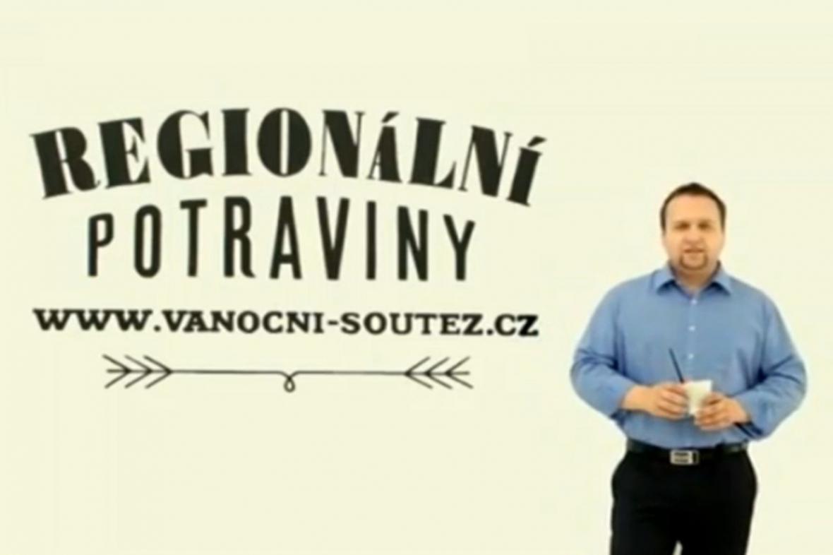 Ministr zemědělství Marian Jurečka v reklamě propagující české potraviny