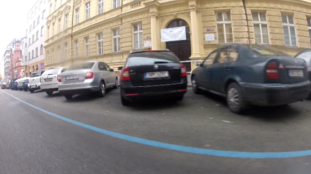 Modrá zóna v Praze 3