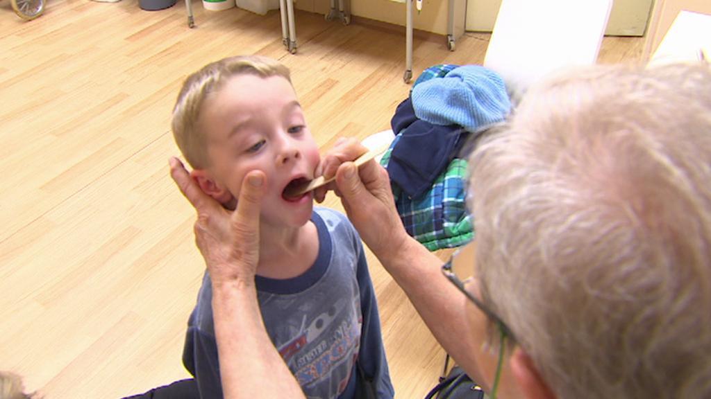Dětský pacient na pohotovosti v Lounech