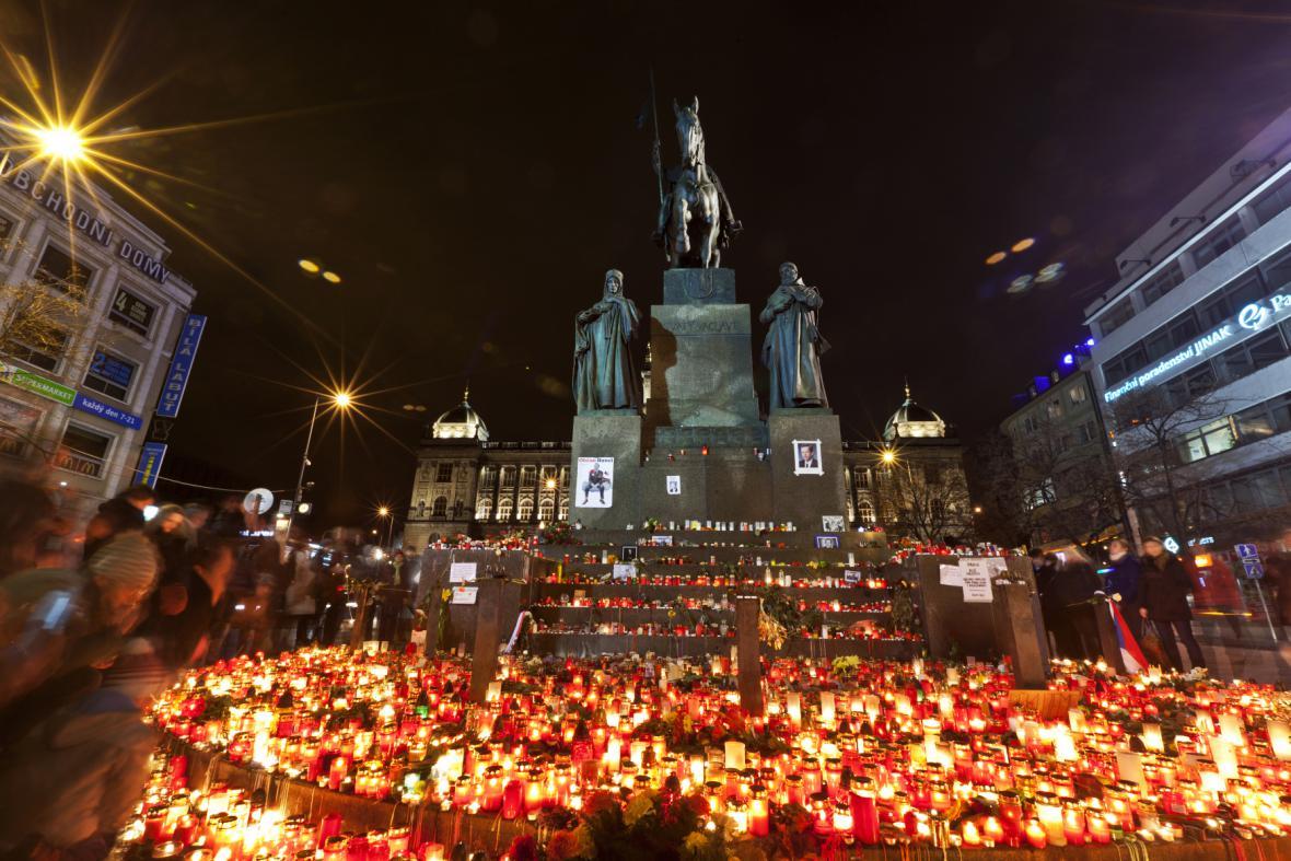 Smuteční tryzna za Václava Havla