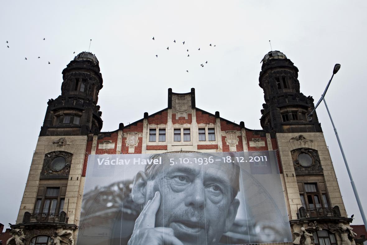 Minuta ticha za Václava Havla