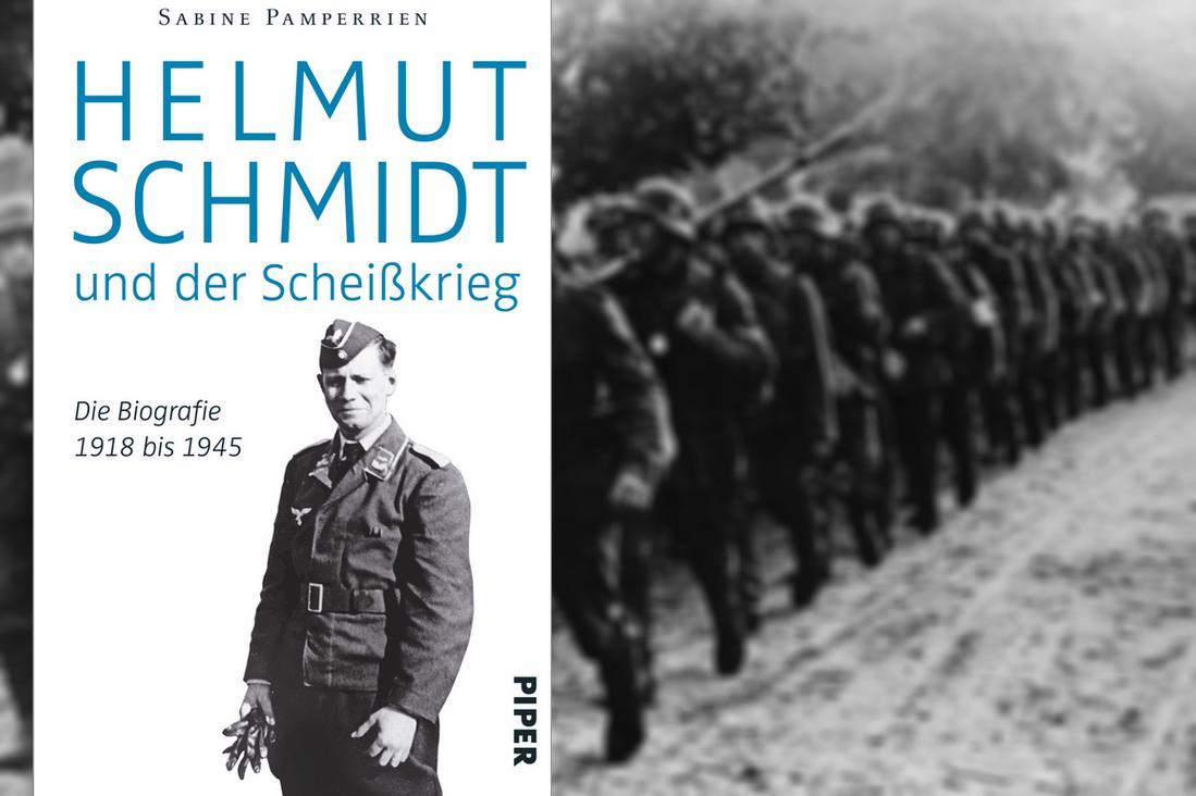 Kniha o válečné minulosti Helmuta Schmidta