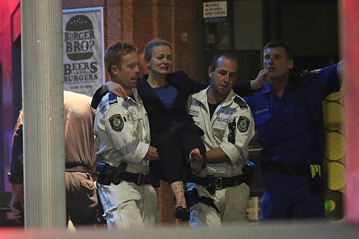Záchrana rukojmích v Sydney