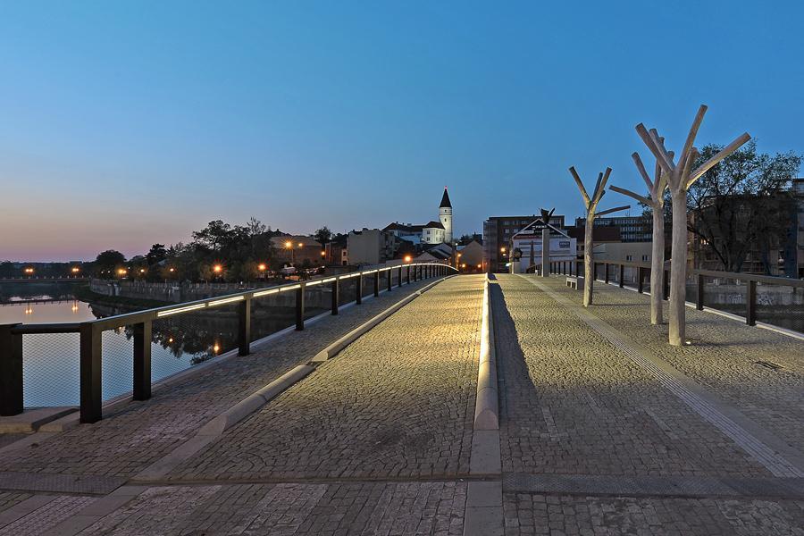 Tyršův most, Přerov (z výstavy Czechscape)