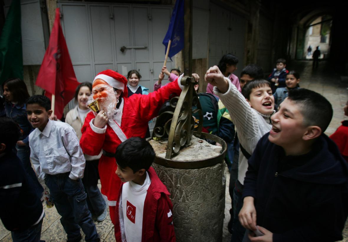 Vánoce v Izraeli