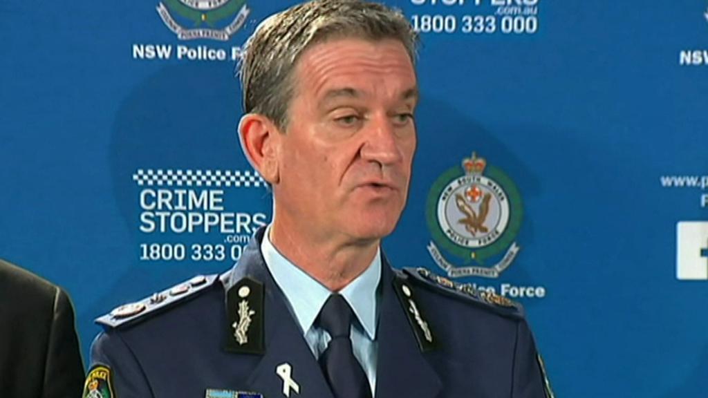 Andrew Scipione na brífinku k dramatu kolem rukojmích v Sydney