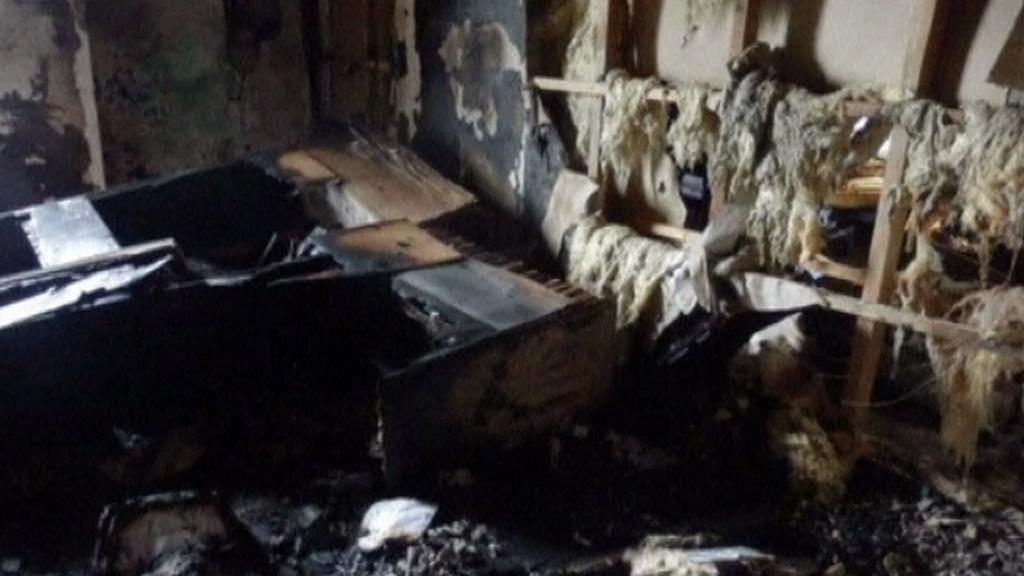 Vypálená kancelář