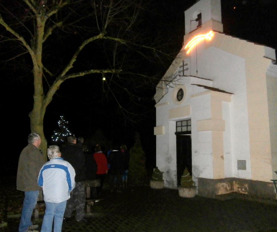 Kaple Anděla Strážce ve Vojnicích