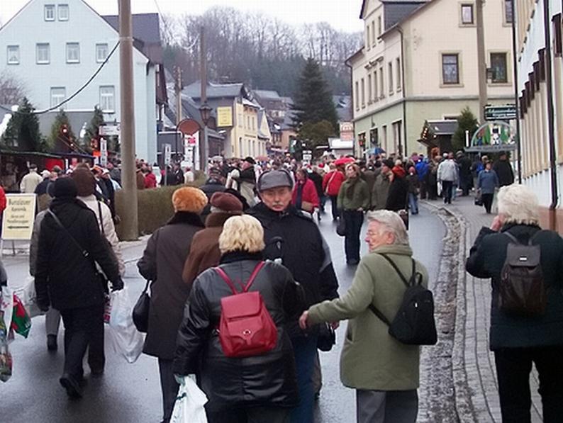 Německé hornické město Seiffen