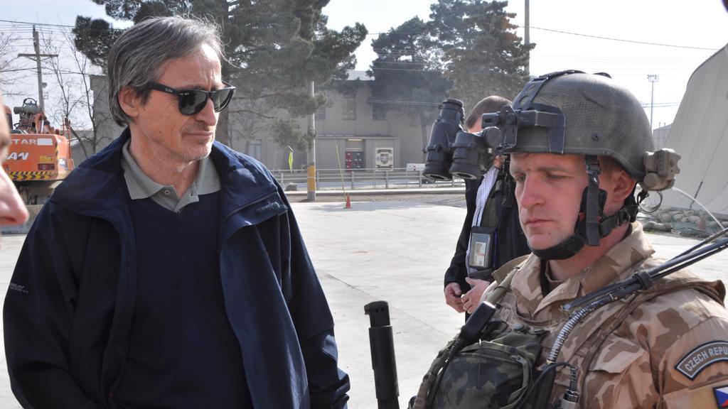 Martin Stropnický v Afghánistánu