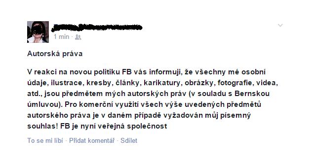 Facebook - reakce na nová pravidla