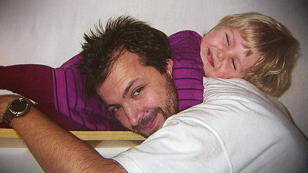 Anna Hromádková s otcem