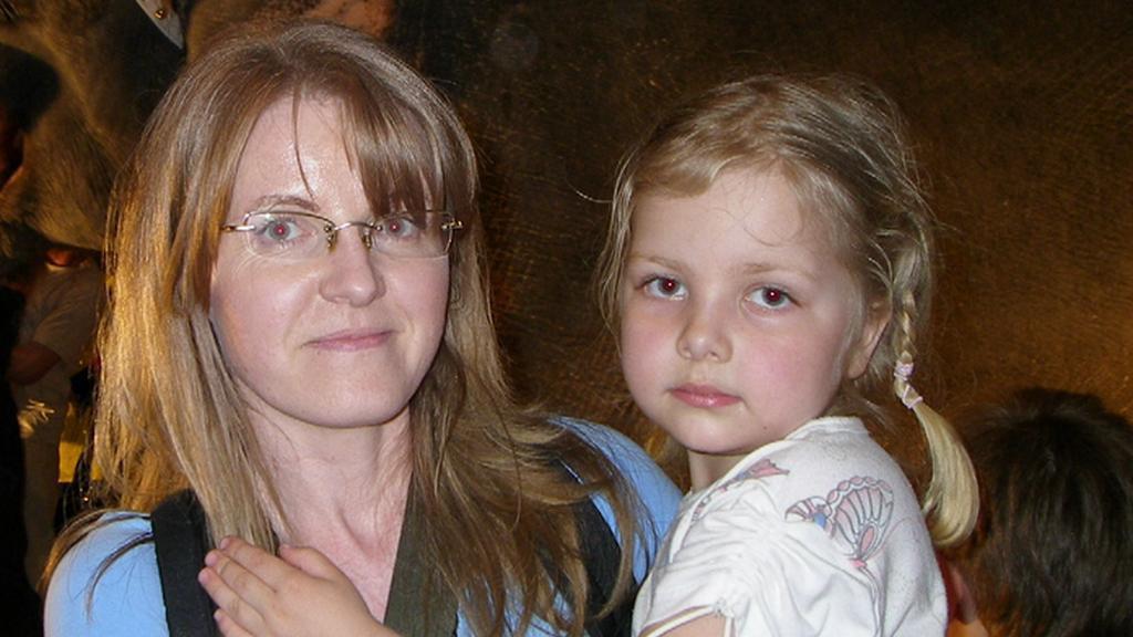 Olga Hromádková s dcerou Aničkou