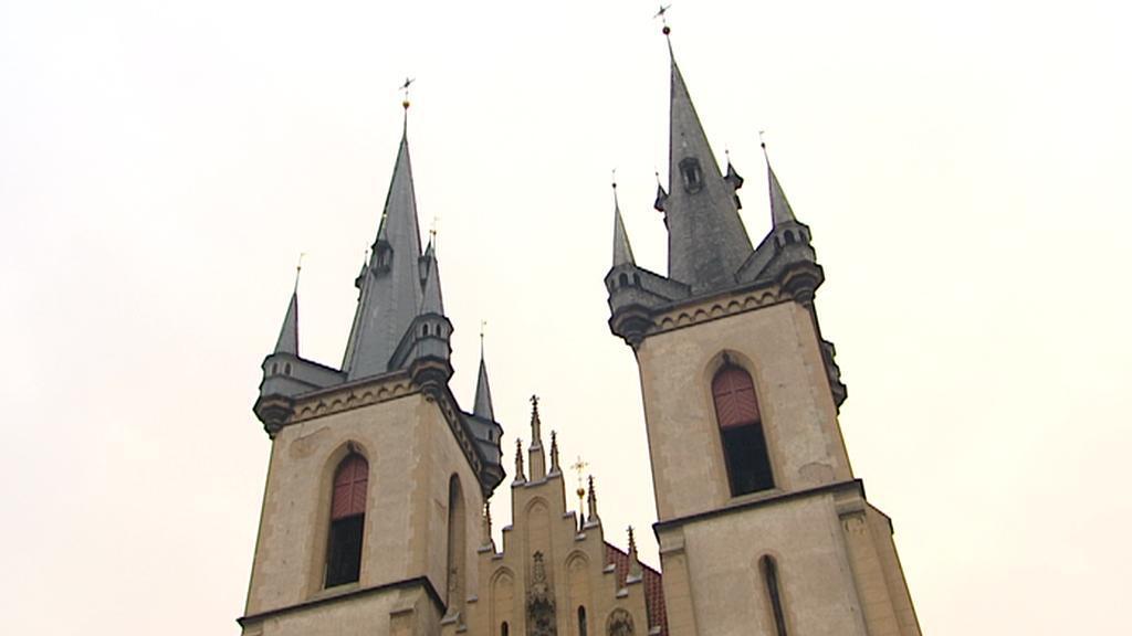 Věže kostela sv. Antonína