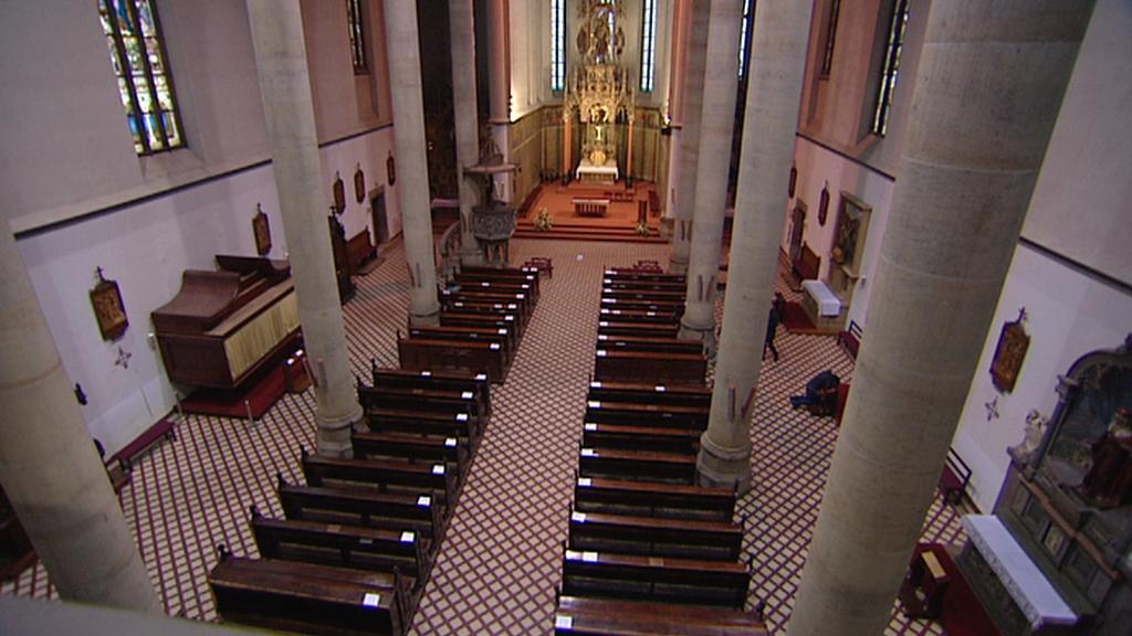 Interiér kostela sv. Antonína