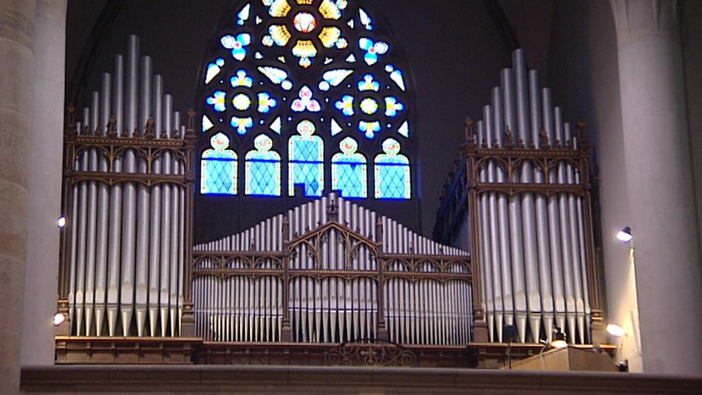 Varhany v kostele sv. Antonína