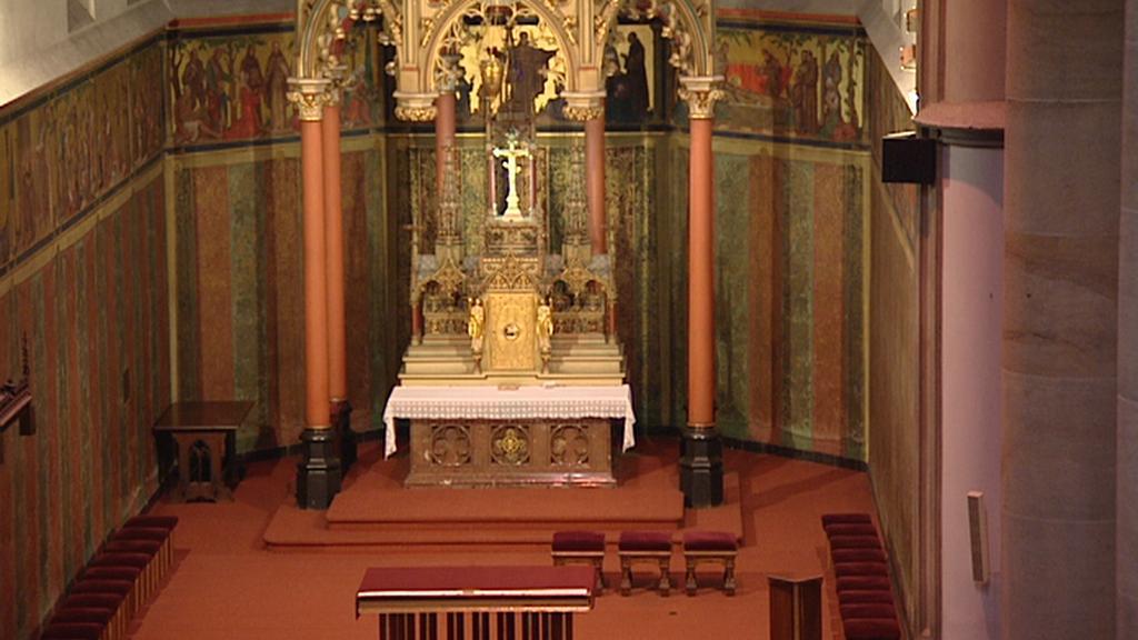 Oltář v kostele sv. Antonína