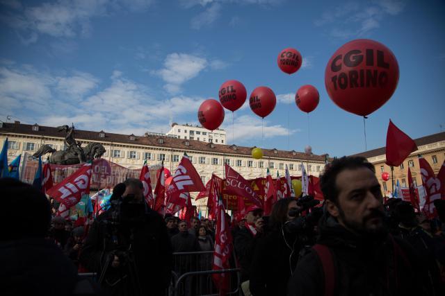 Stávka v Turíně
