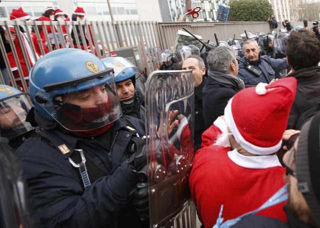 Generální stávka v Itálii