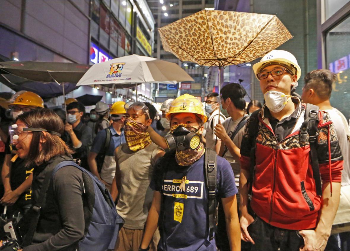 Demonstrace v Hongkongu