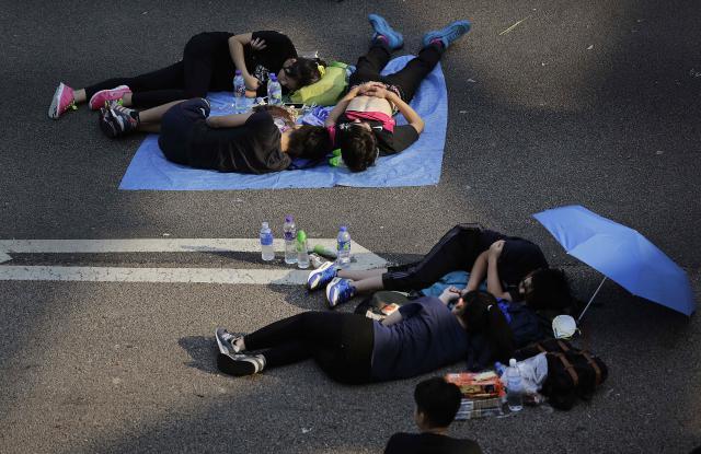 Demonstranti jsou v ulicích už týden