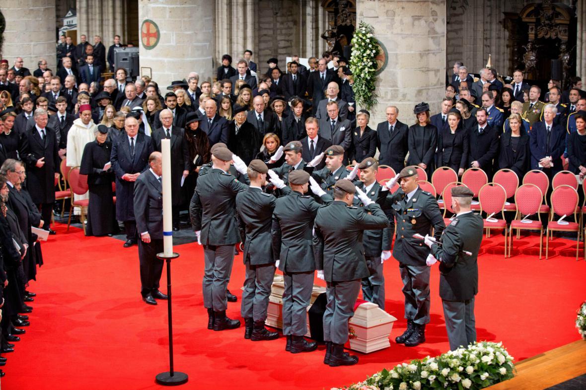 Pohřeb královny Fabioly