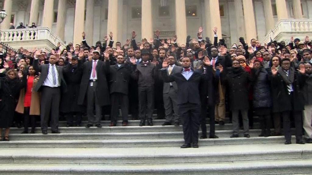 Protest afroamerických zaměstnanců Kongresu