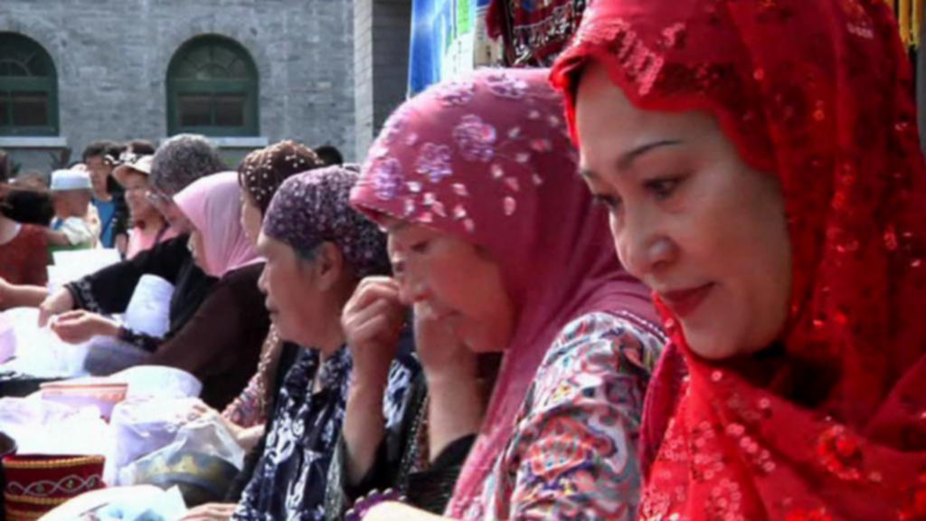 Muslimky v Urumči