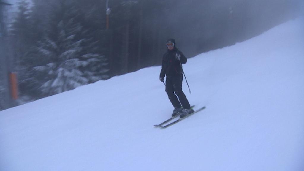 Na Černé hoře v Krkonoších už se lyžuje