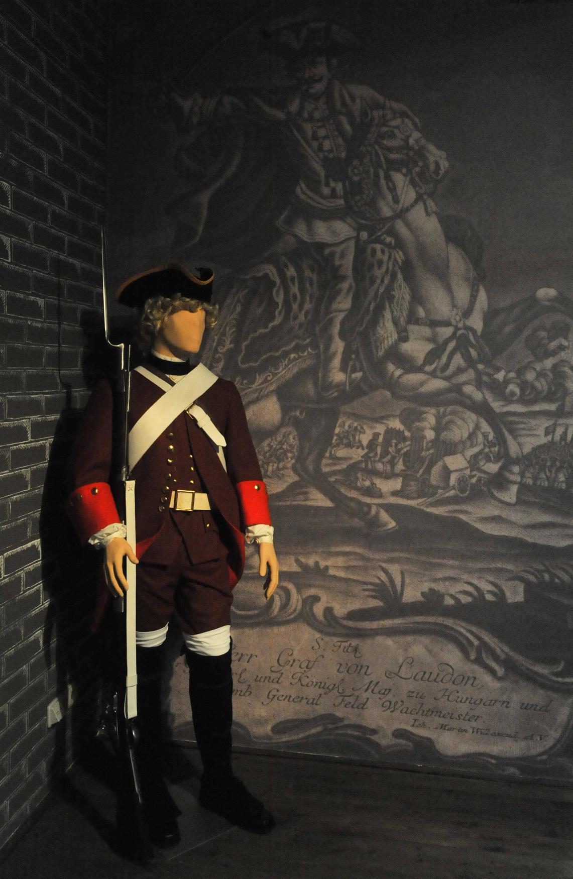 Expozice Generál Laudon v Novém Jičíně