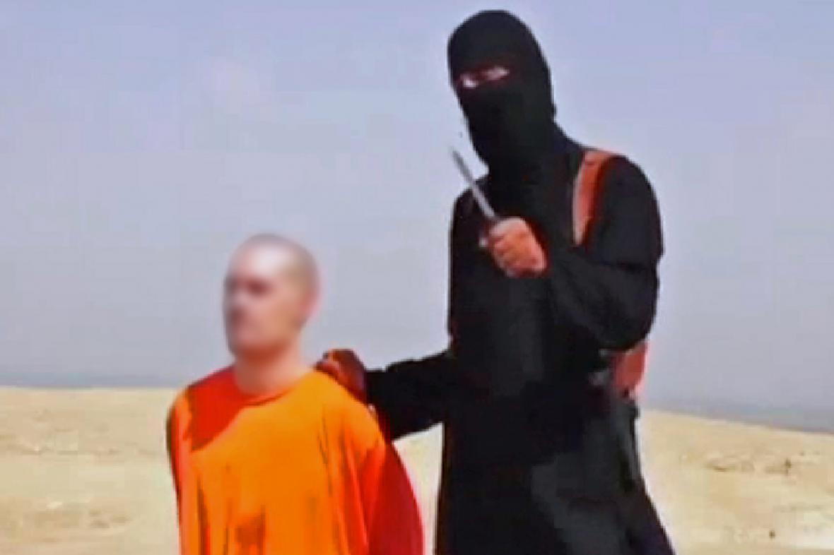 IS zveřejnil video se zavražděním novináře Foleyho