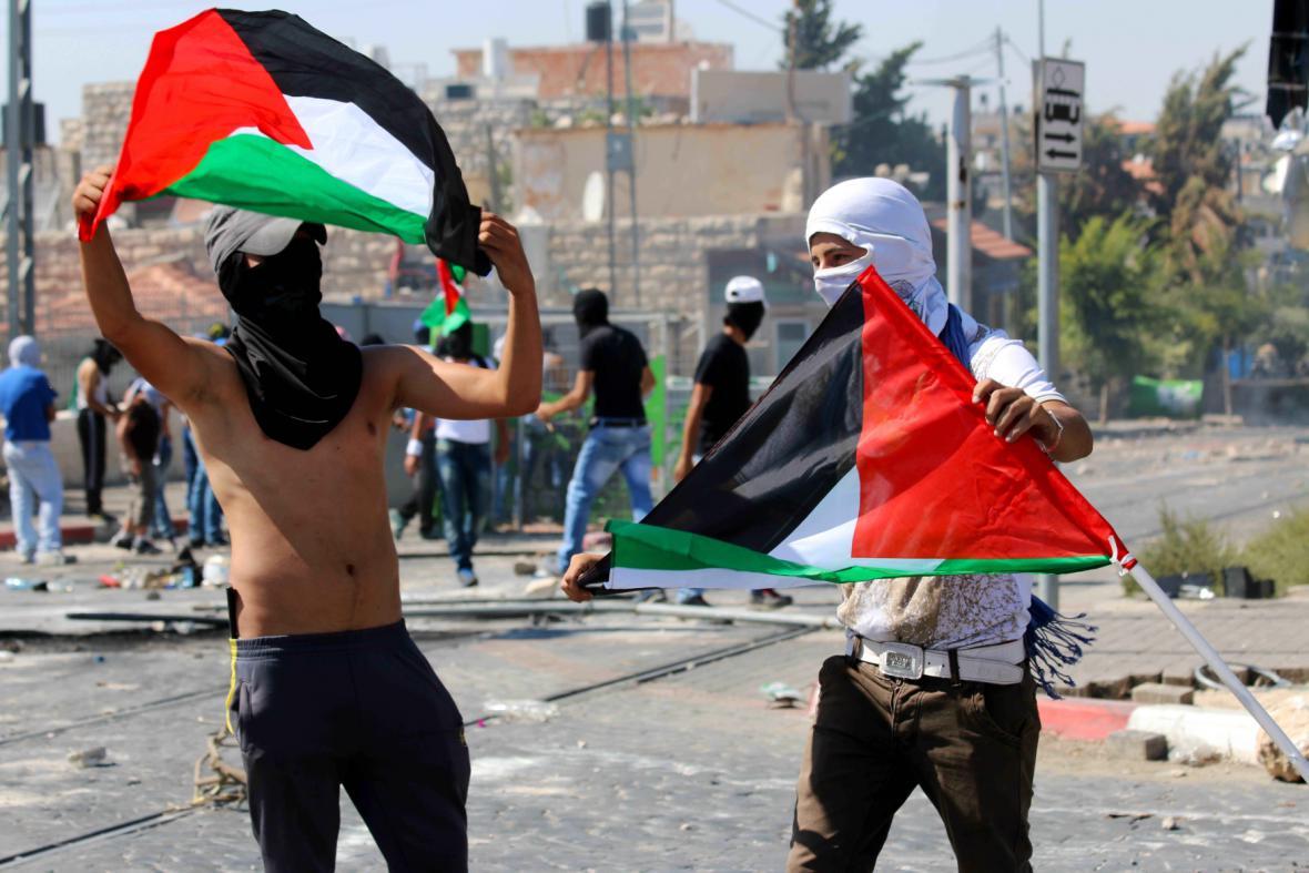 Střety Palestinců s policií