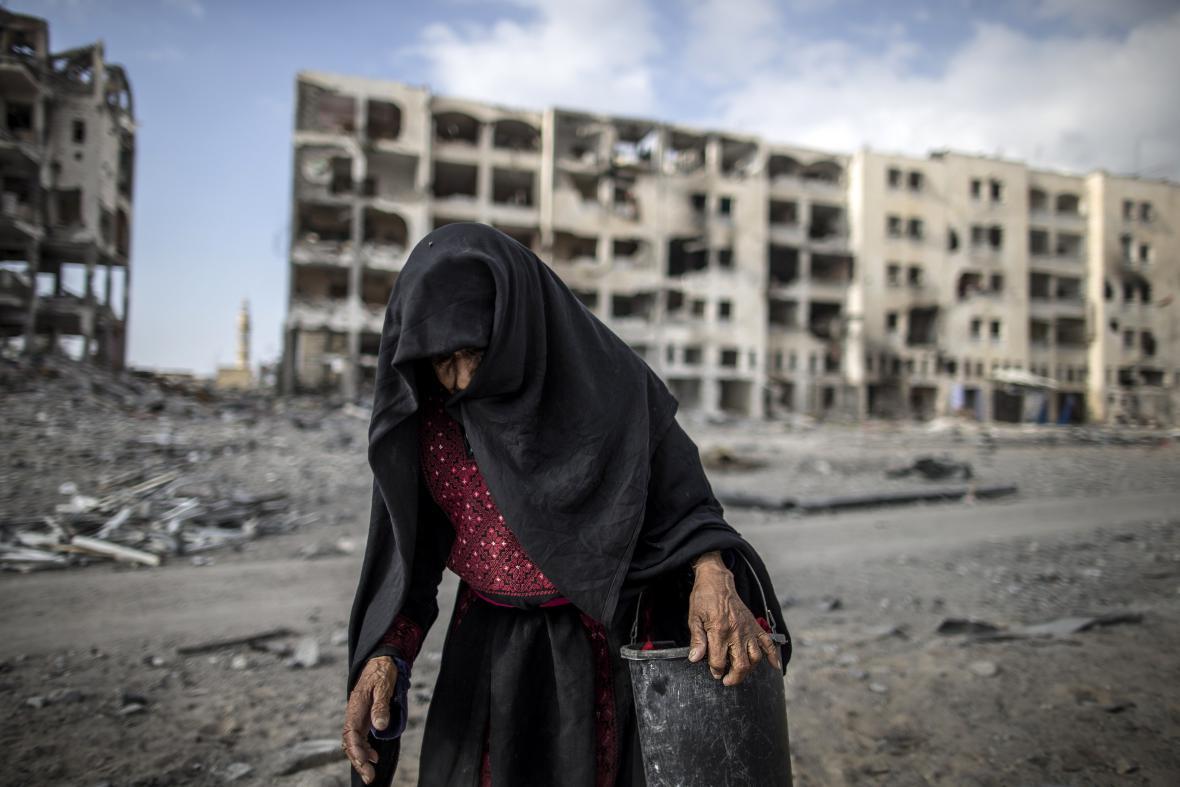 Uprchlíci z Gazy