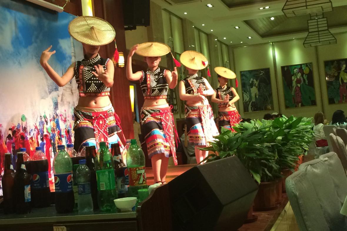 Tanec tvoří nedílnou součást kulturních tradic Číny
