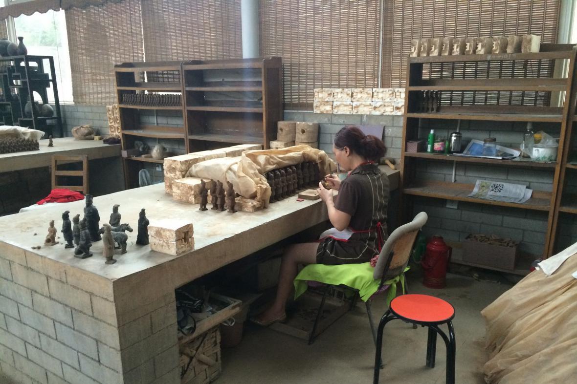 Tradiční řemesla jsou v Číně velmi rozšířená